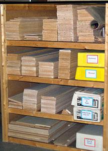 Airfield Models Model Shop Storage