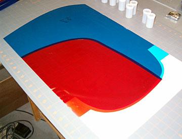 Aplicação de Monokote em diversas cores com sobreposição mínima 18365