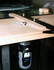 Airfield models make a router shaper table for use with for Diy dremel router table