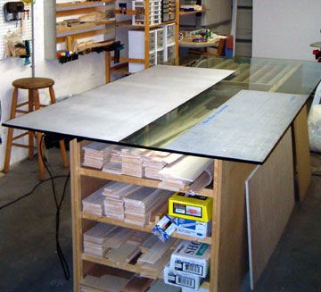 Airfield Models Workbenches And Model Building Surfaces